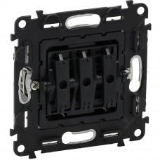 Valena IN`MATIC Выключатель 3-клавишный 10АХ 250В, винтовые клеммы