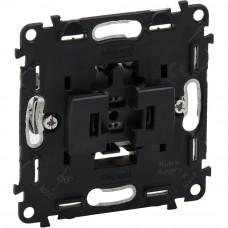 Valena IN`MATIC Выключатель 6А 250В кнопочный, автоматические клеммы