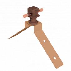 Держатель по гребню прямой  с Clip Nі H06/1 (Сlip-полиамид)