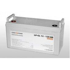 Аккумулятор гелевый LP-GL 12 - 120 AH (LogicPower)