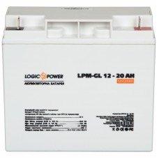 Аккумулятор гелевый LP-GL 12 - 20 AH (LogicPower)