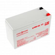 Аккумулятор гелевый LP-GL 12 - 7 AH (LogicPower)