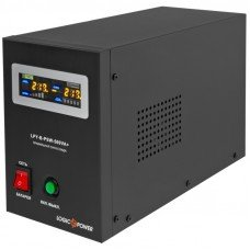 Источник бесперебойного питания с правильной синусоидой LPY-B-PSW-500VA+(350Вт)5A/10A стационарный, под внешнюю АКБ 12В LogicPower