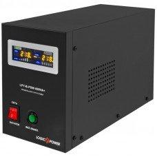 Источник бесперебойного питания с правильной синусоидой LPY-B-PSW-800VA+(560Вт)5A/15A стационарный, под внешнюю АКБ 12В LogicPower