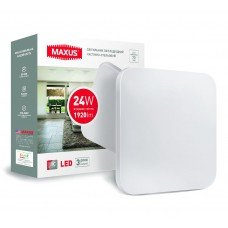Светильник  LCL MAXUS  S-01 24W 4100K квадрат