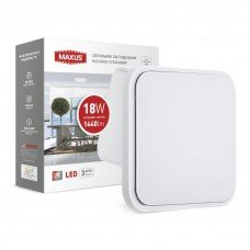 Светильник  LCL MAXUS S-03 18W 4100K квадрат