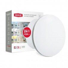 Светильник  MAXUS CL 3-step 24W 3000-6500K круг