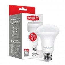Лампа MAXUS  LED R63 7W 4100K 220V E27