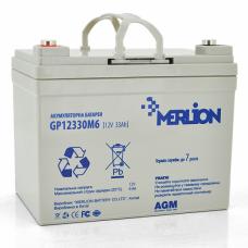 Аккумуляторная батарея MERLION AGM  12 V 33 Ah