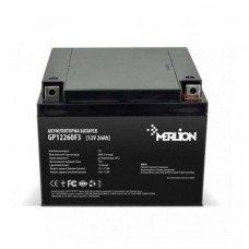 Аккумуляторная батарея MERLION AGM 12 V 26 Ah (166 х 175 х125)