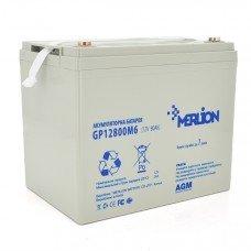 Аккумуляторная батарея MERLION AGM 12 V 80 Ah ( 275 x 185 x 260 ) 21,8 кг