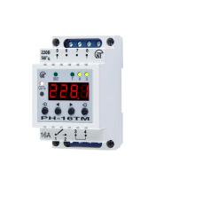 Таймер суточно-недельный с функциями реле напряжения и встроенным фотореле (Новатек-электро)