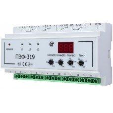 Универсальный автоматический электронный переключатель фаз 32А, ПЭФ-319 (НОВАТЕК-ЭЛЕКТРО)