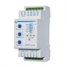 Трехфазное реле напряжения и контроля фаз РНПП-311м (рег. времени) (НОВАТЕК-ЭЛЕКТРО)