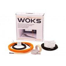Комплект для теплого пола Woks-10  (кабель)  100 Вт 0,7-1,3 м2