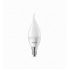 Лампа LED свеча на ветру ESSLEDCandle 6.5-75W 4000К E14 840 BA35NDFRRCA PHILIPS