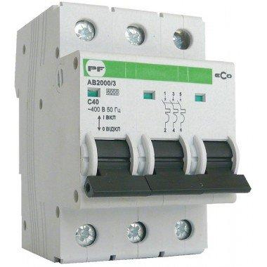 Автоматический выключатель ПРОМФАКТОР ECO АВ2000 3P C 32A 6кА - описание, характеристики, отзывы