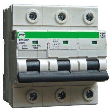 Автоматический выключатель ПРОМФАКТОР АВ2000 EVO 3Р D 100A 6кА - описание, характеристики, отзывы