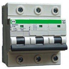 Автоматический выключатель ПРОМФАКТОР АВ2000 EVO 3Р D 125A 6кА