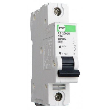 Автоматический выключатель ПРОМФАКТОР АВ2000 1Р C 4A 6кА - описание, характеристики, отзывы