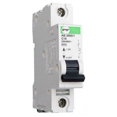 Автоматический выключатель ПРОМФАКТОР АВ2000 1Р C 20A 6кА - описание, характеристики, отзывы
