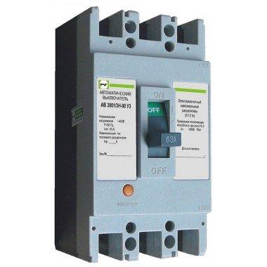 Автоматический выключатель ПРОМФАКТОР АВ3001/3 Н 20 - описание, характеристики, отзывы