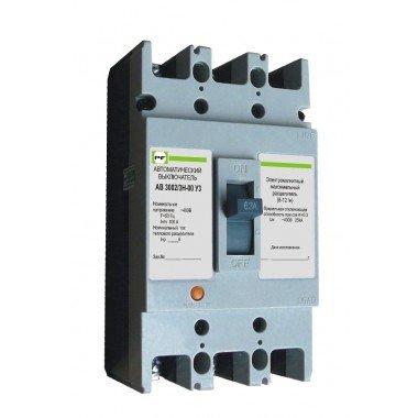 Автоматический выключатель ПРОМФАКТОР АВ3002/3 Н 32 - описание, характеристики, отзывы