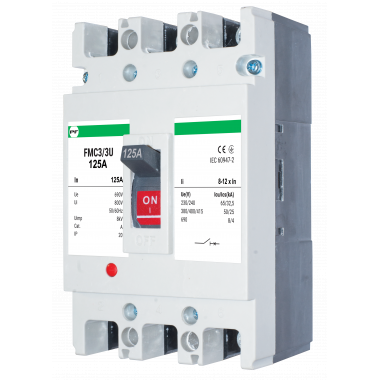 Автоматический выключатель FMC3/3U 8-12In 3P In=125А ПРОМФАКТОР - описание, характеристики, отзывы