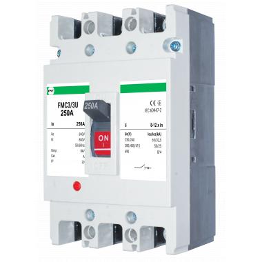 Автоматический выключатель FMC3/3U 8-12In 3P In=250А ПРОМФАКТОР - описание, характеристики, отзывы