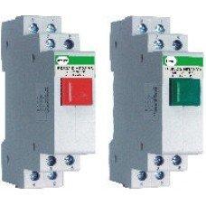 Кнопка модульная ВК 832 З НП22  4А (зеленая)