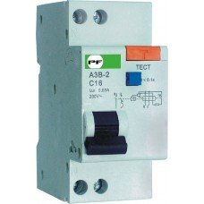 Автоматический выключатель защитного отключения АЗВ-2 1P+N 10А/0,03A, Промфактор