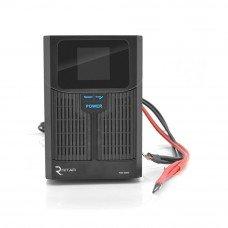 Источник бесперебойного питания с правильной синусоидой RITAR RTSW-1500 LCD (1000Вт) , под внешнюю АКБ 24В стационарный