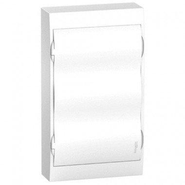 Щит пластиковый навесной белая дверь 3 ряда/36М+2КК, Schneider Electric EZ9E312P2S - описание, характеристики, отзывы
