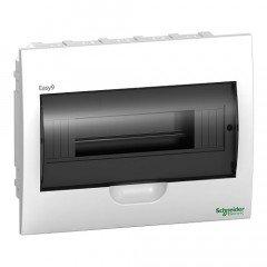Щит пластиковый врезной дымчатая дверь 1 РЯД/12М+2КК, Schneider Electric EZ9E112S2F