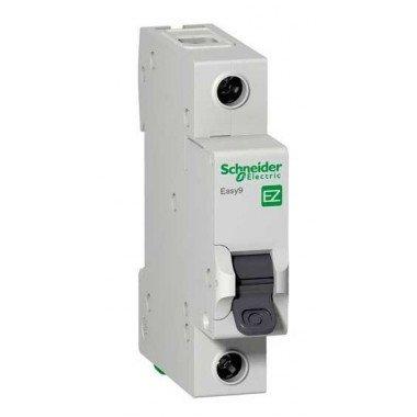 """EZ9 Автоматический выключатель, 1Р, 10А, Х-КА """"С"""", Schneider electric - описание, характеристики, отзывы"""