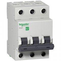EZ9 Автоматический выключатель, 3Р, 16А, Х-КА С, Schneider electric