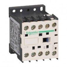 Schneider Electric Контактор 12А, дополнительно 1 нормально закрытый, AC24V