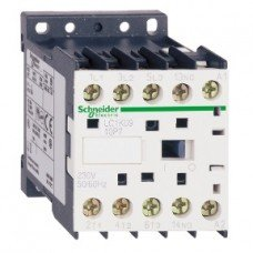 Schneider Electric Контактор 16А, дополнительно 1нормально открытый, AC220V