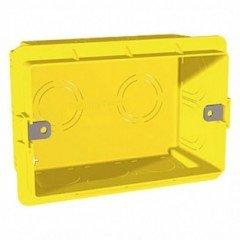 Коробка врезная 3 модуля