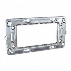 Суппорт для механизмов 4-модульных металлический