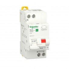 Дифференциальный автоматический выключатель RESI9 6kA 1P+N 10A C 10mA А, Schneider electric