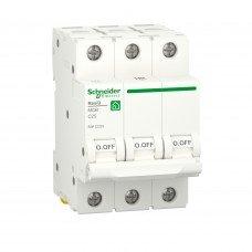 Автоматический выключатель, RESI9 6kA 3P 25A C, Schneider electric