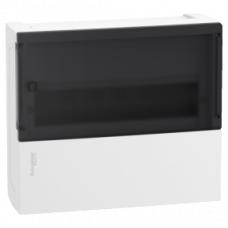 Щит MINI PRAGMA 1 ряд/12 модулей, навесной прозрачная дверь, Schneider Electric