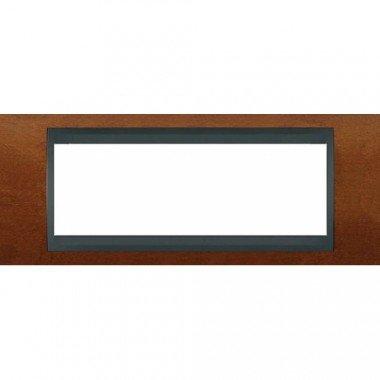 Рамка 6-модульная  Schneider Electric Unica ТОР, черешня/графит - описание, характеристики, отзывы