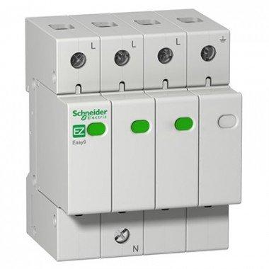 Устройство защиты от импульсных перенапряжений (УЗИП) 3Р+N/20кА/10кА/1,3кВ, Schneider Electric EZ9 - описание, характеристики, отзывы