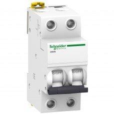 Автоматический выключатель iK60 2P 32A B, Schneider electric