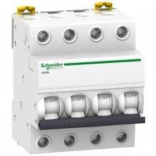 Автоматический выключатель iK60 4P 10A B, Schneider electric