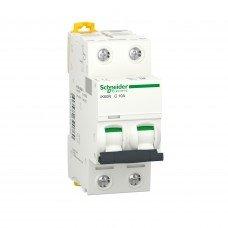 Автоматический выключатель iK60 2P 10A C, Schneider electric