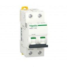 Автоматический выключатель iK60 2P 40A C, Schneider electric
