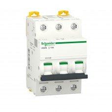 Автоматический выключатель iK60 3P 10A C, Schneider electric